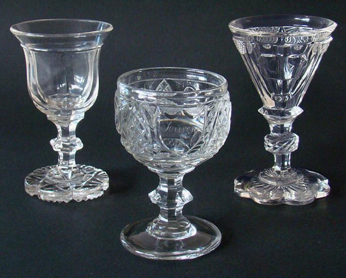 Ongebruikt Valentijn Antiek: glas en kristal voor 1900, diamantslijpsel JT-31