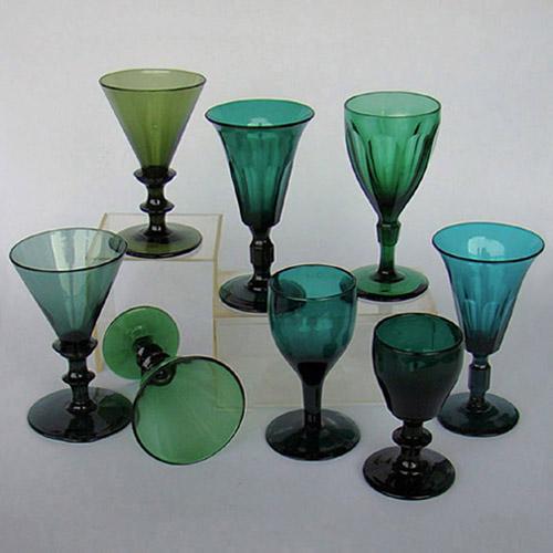 Goede Valentijn Antiek: glas en kristal voor 1900, diamantslijpsel WS-95